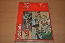 MAZDA 808 818 1972 - 1975 Reparaturanleitung Autobook 877 Manual