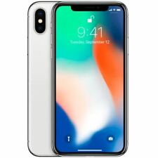 Apple iPhone X 64GB Sim Free unlocked iOS Smartphone - Silver