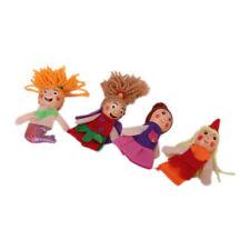 4pcs Meerjungfrau Fingerpuppen Spielzeug NEU