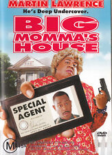 BIG MOMMA'S HOUSE Martin Lawrence DVD R4 - PAL