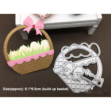 Easter Egg Basket Bow Metal Cutting Dies Stencil DIY Scrapbooking DIY Die Cut