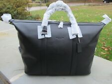 NWT Coach Voyager Sports Calf Duffle Bag/ Double Handles/ Black- F 54765- $695