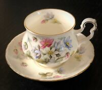 Vintage Royal Albert Bone China Sonnet Series, Byron Cup and Saucer