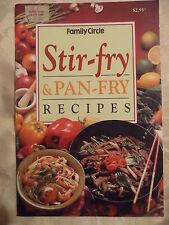 FAMILY CIRCLE mini cookbook STIR FRY & PAN FRY RECIPES EUC