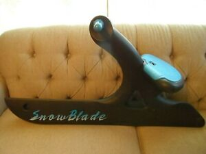 Rare! '90's Vintage Snowblade Seat Sled Blade Sled * Rare! Must See! No Reserve!