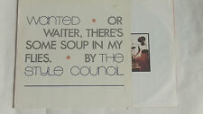 """THE STYLE COUNCIL -Wanted Or Waiter, There's Some Soup In My Flies- 12"""""""