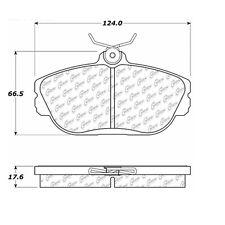 105.06010 - Centric Posi-Quiet Ceramic Disc Brake Pad Set W/HDW Free Shipping!