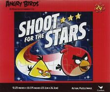 NEW ~ ANGRY BIRDS ~ 24 PIECE PUZZLE ~ SHOOT FOR THE STARS