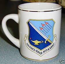 Collectible Military Air Force Senior Nco Academy Mug!