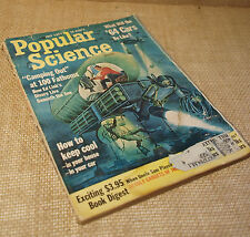 July 1963 Popular Science Magazine Vintage Cars Divers Advertisements