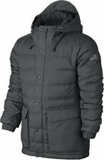 NWT MENS NIKE SB 550 DOWN JACKET COAT 693334-021 GRAY ANTHRACITE SZ MED M $290