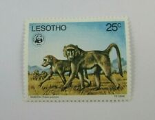 Lesotho SC #232 BABOONS World Wildlife Fund WWF  MNH 25c stamp