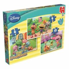 Disney Henry Huggle Monster 6 9 12 Piece 3 Jigsaw Puzzle Brand New Gift