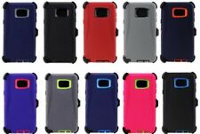 For Samsung Galaxy Note5 Case Armor Stand w(Belt Clip fits OTTERBOX)Cover+Screen
