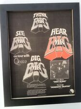 MR BIG*Sweet Silence*1975*ORIGINAL*POSTER*AD*FRAMED* FAST WORLD SHIP