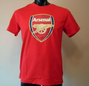PUMA  ARSENAL SUPPORTERS FAN T- SHIRT RED MENS XL BRAND NEW
