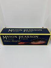 Mason Pearson Pocket Bristle Hairbrush Dark Ruby B4 NEW AUTHENTIC OPEN BOX READ