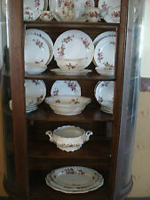 ANTIQUE/Royal Rose Fine china/ Japan/White/Red Roses