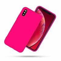 For Apple iPhone XR XS Max Protective Case Rubber Silicone TPU Soft Skin Cover