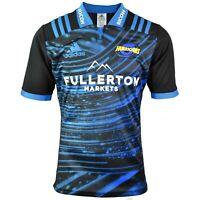 Hurricanes New Zealand 2018 Adidas Super Rugby Training Shirt Jersey M XL new