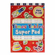 Super Pad Activity Book - Great for Holiday - Age 7-10 Times Table Pad