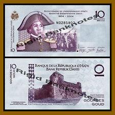 Haiti 10 Gourdes, 2014 P-272a Commemorative Independance 1804-2014 Unc
