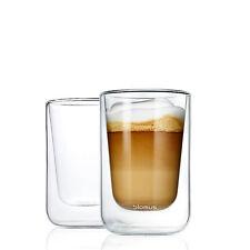 blomus Design Cappuccino oder Tee Gläser 2er Set Thermoglas NERO 63654 NEU