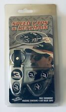 Dale Earnhardt Sr 4 Speed Caps Air Valve Caps & Keychain Set NASCAR #3 NEW