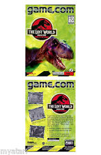JURASSIC PARK THE LOST WORLD NEW SEALED!  GAME.COM/Tiger