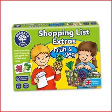 Orchard Toys Shopping List Extras Pack - Fruit & Veg Game