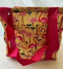 Thirty-One SMALL Utility Tote - Let's Flamingle  New In Package Flamingo