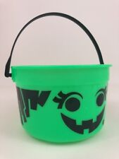 McDonald's Mcboo Witch Toy Candy Bucket Halloween Vintage 1986