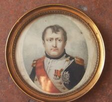 authentique Miniature de  L'EMPEREUR NAPOLEON 1ER