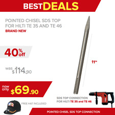 POINTED CHISEL SDS TOP, NEW, FOR HILTI TE 35, FREE HAT, FAST SHIPPING