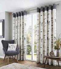 Modern 100% Cotton Window Curtains