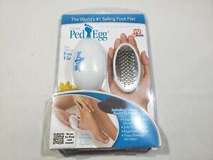 Ped Egg Pedi Callus Remover - White