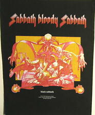 "Black sabbath dos écusson/backpatch # 3 ""sabbath Bloody sabbath"""
