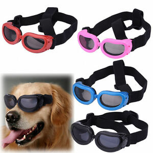 Dog Sunglasses UV Eye Protection Pet Puppy Goggles Sun Glasses Wear XXXS/XXS/XS