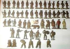 Soldatini Kinder sorpresine Gadget in metallo alti cm 4