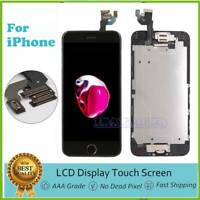 "Screen Replacement For iPhone 6 4.7"" LCD Digitizer Touch + Home Button+Camera US"