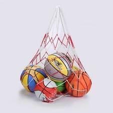 Rete nylon trasporto porta portare palloni palla palle BASKET CALCIO 90cm