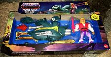 Mattel Exclusive MOTU HE-MAN Origins Prince Adam's Sky Sled Action Figure Toy!