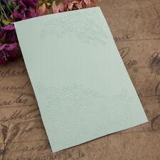Flower cluster Embossing folders Plastic Embossing Folder For Scrapbooking card