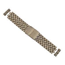 Luminox 9274 F-22 Raptor - Brushed TITANIUM Bracelet Watch Band 24mm