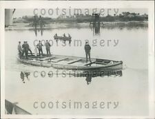 1929 Germans Test New Life Boat Design Bremen Press Photo
