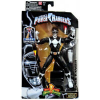 """Power Rangers Legacy Collection MIGHTY MORPHIN BLACK Figure 6.5"""" Limited Bandai"""