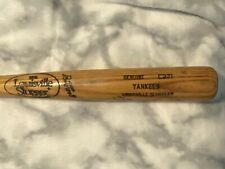 "New York Yankees ""Yankees"" Used 33 1/2"" Louisville Slugger Pro Model C271 Bat"