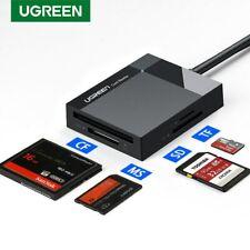 Ugreen USB 3.0 Kartenleser 4in1 Kartenlesegerät Adapter für SD/CF/TF Card Reader
