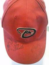Arizona Diamondbacks Signed Baseball Cap Hat