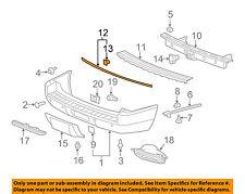 GM OEM-Bumper Trim-Molding 15853598
